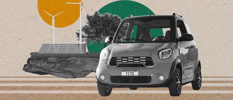 Tito, el auto eléctrico de San Luis , en un mes, duplicó la demanda